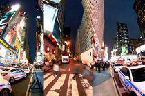NY Gallery Print - Times Square TRINITY von temponaut