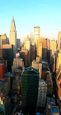 New York Art Print - SKYLINE 3of3 by temponaut
