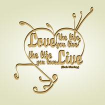 Typography Posters - Bob Marley Quotes 2 von ozy ardiansyah