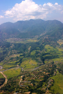 Nepal from above  by sylviphotography