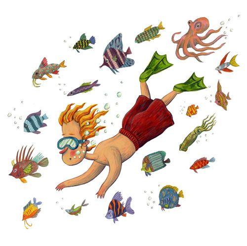 Boy-and-fish