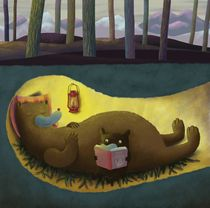 Hibernation in the Bear Den. by Nikko Barber