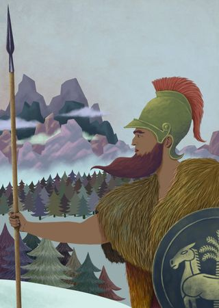 Soldier-mountains-forest-historical