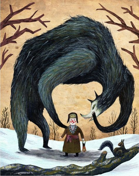 Wolf-and-child