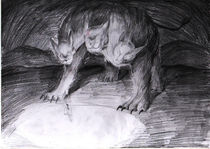 painting sketch1 - cerberus