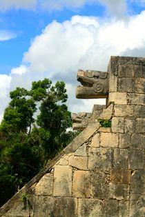 Pyramide Chichen Itza auf der Halbinsel Yucatan, Mexiko von mellieha