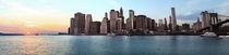 New York Skyline Kunstdruck von temponaut