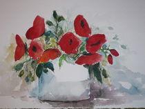 Mohnblumen von Sally Sylvia Nemeth