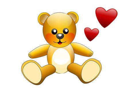 Glossy-teddy-bear