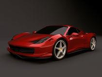 Ferrari 458 Italia restyled von Nikola Novak