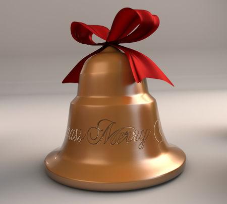 Xmas-golden-bell