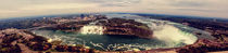 Niagara bird view by Misha Vlascoff