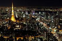 Night view of Tokyo von sanmai