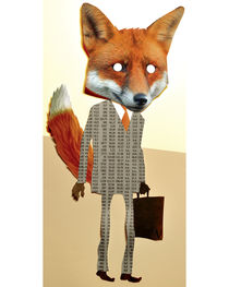 BUSY FOX by Vigg von Atelier Tricorne