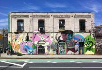 Graffiti in Williamsburg von Giorgio  Davanzo