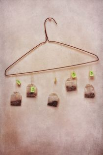 tea bags by Priska  Wettstein