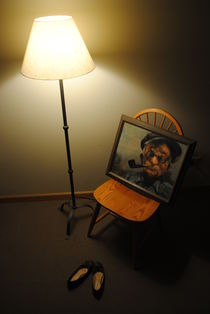 Grandfather's Lamp by Elyse Pyle