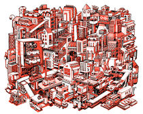 City Machine von Nigel Sussman