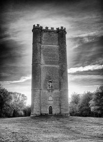King Alfreds Tower  B&W von andrew  Bowkett