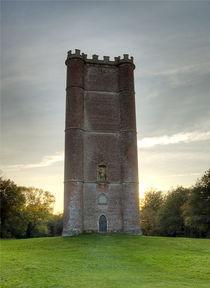 King Alreds Tower colour von andrew  Bowkett