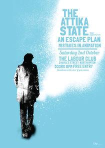 Attika State Poster by Benjamin Brown