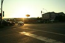 Street & sunset von Marine d.