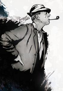 Jacques Tati by drasik