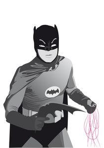 The Old Batman von Francesca Blè