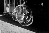Paris Street Soap Bubble by Pedro Serrao