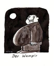 Der Wampir by Arnulf Kossak