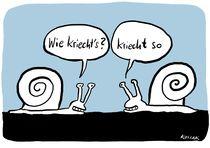 Kriechtiere by Arnulf Kossak