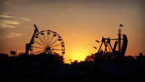 Carnival at Sundown von Crystal Kepple