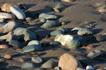 Sandy pebbles by 56degreesphotography