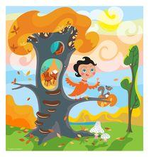 Sunny Day by Lyudmila Lavrentyeva