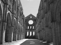 San Galgano Abbey by Francesco Ferorelli