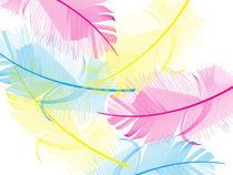 Yumini Feathers by Anne Sciberras