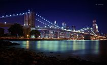 Brooklyn Bridge at Night von Vlad Klikfeld