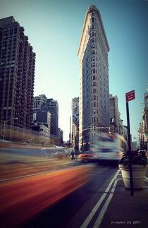New York's Flatiron in Motion