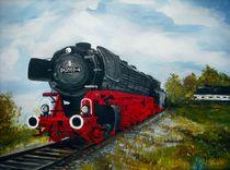 Dampflokomotive von Bärbel Knees