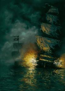 Battle Ships by Jenna Drawing
