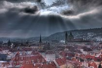 Clouds over Prague von Gavin Poh