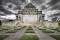 Shrine of remembrance Melbourne Australia by Gavin Poh