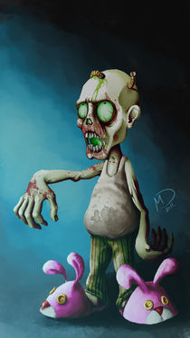 Halloween series:Zombie by Darjan Mikicic