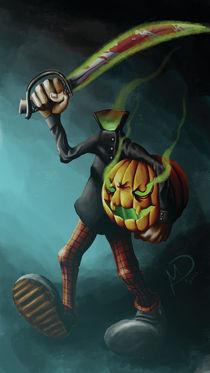 Halloween series:Headless hunter by Darjan Mikicic