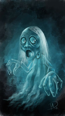 Halloween series:Ghost by Darjan Mikicic