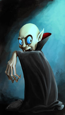 Halloween series:Dracula by Darjan Mikicic