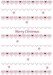 Happy Christmas von Caroline Allen