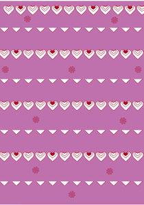 Pink Bunting by Caroline Allen