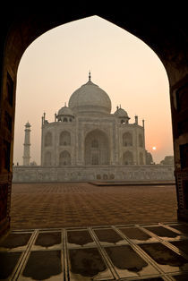 Morning at the Taj Mahal by Russell Bevan Photography