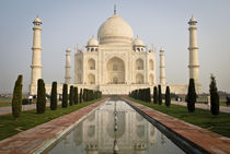 Classic Front View of the Taj Mahal by Russell Bevan Photography
